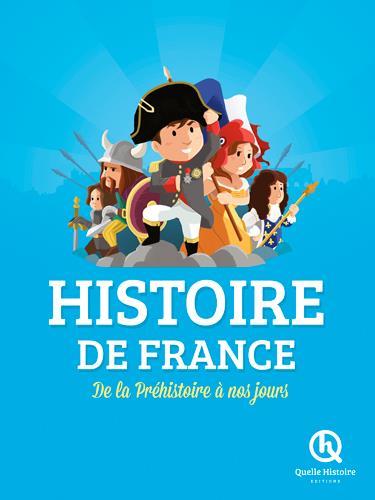 HISTOIRE DE FRANCE  -  DE LA PREHISTOIRE A NOS JOURS Mottez Vincent