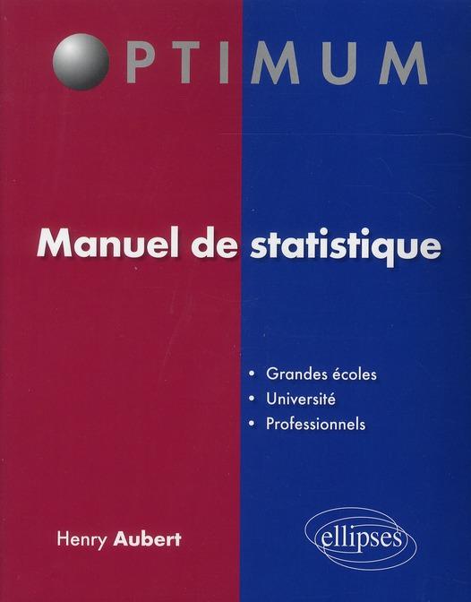 Manuel De Statistique