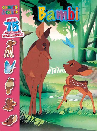 Bambi ; contes à coller