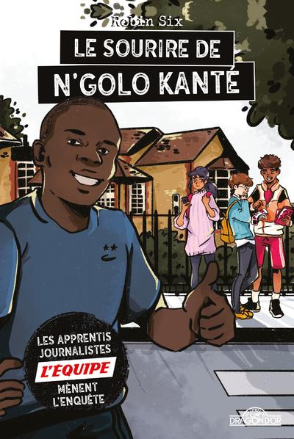 L'Equipe ; le sourire de N'Golo Kante