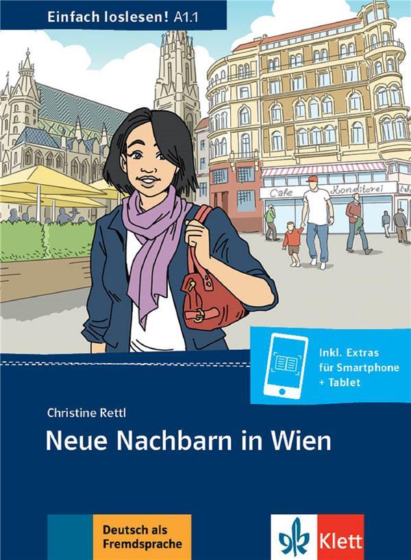 neue nachbarn in wien ; allemand ; A1.1 ; livre + MP3 téléchargeable