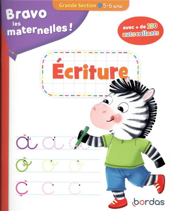 Bravo les maternelles ! ; écriture ; grande section ; 5/6 ans (édition 2020)