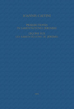 Vente EBooks : Praelectiones in Lamentationes Jeremiae / Leçons sur les Lamentations de Jérémie  - Jean Calvin - Charles de Jonviller