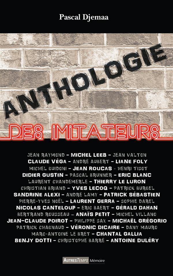 Anthologie des imitateurs
