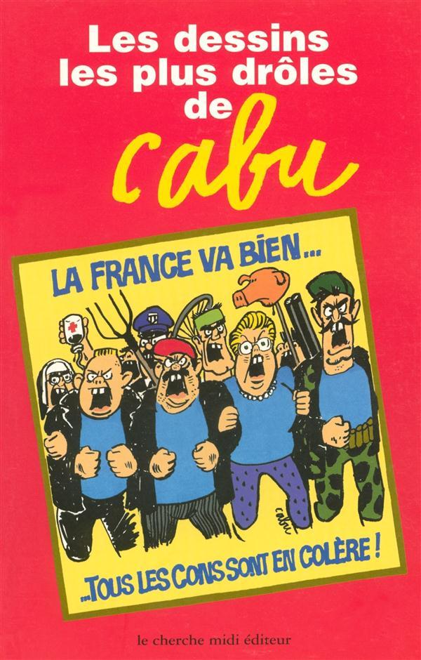 Les dessins les plus drôles de Cabu