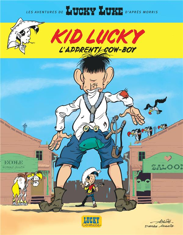 Les aventures de Kid Lucky d'après Morris T.1 ; l'apprenti cow-boy