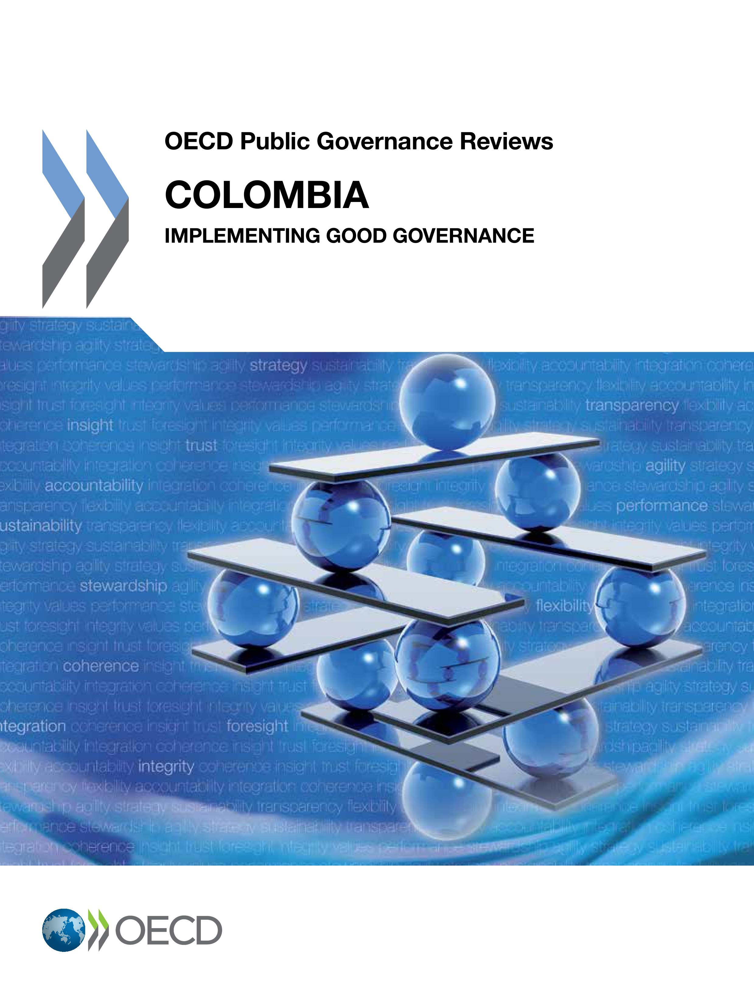 Colombia : implementing good governance