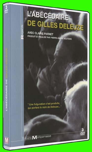 L Abecedaire De Gilles Deleuze Pierre Andre Boutang Editions Montparnasse Dvd Place Des Libraires