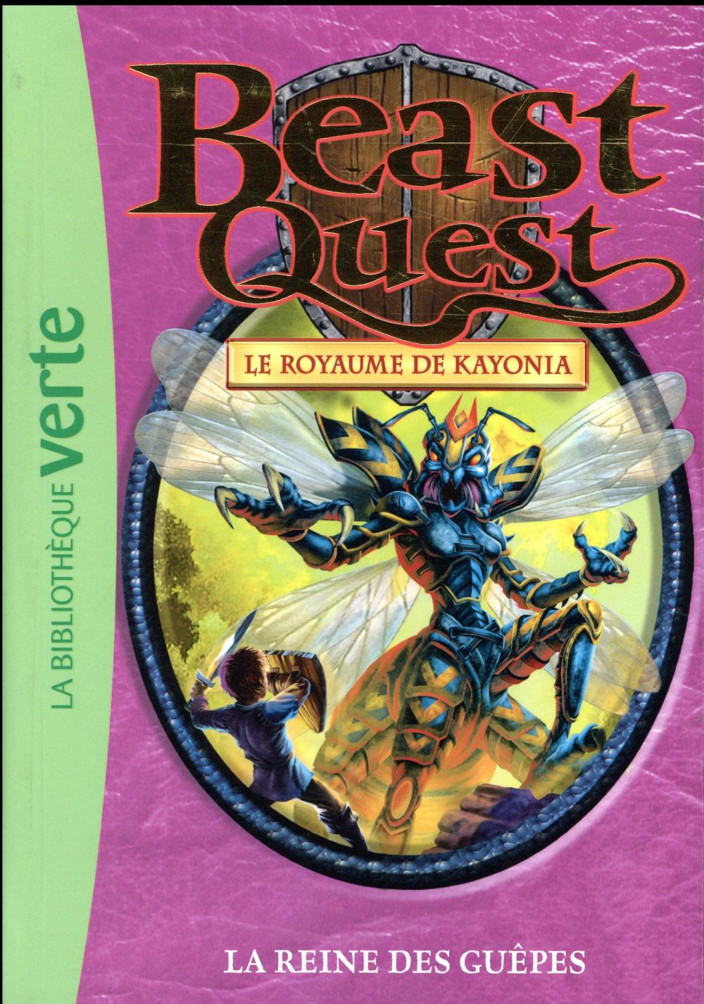 Beast Quest T.40 ; la reine des guêpes
