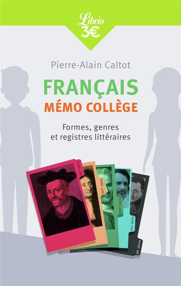 Francais : mémo lycée ; histoires, genres et formes littéraires
