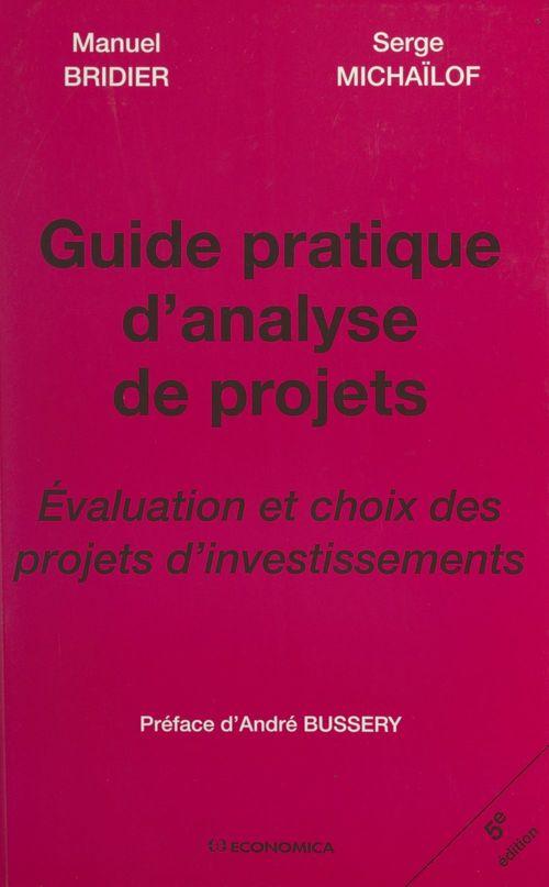 Guide pratique d'analyse de projets