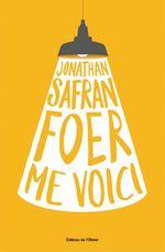 Vente Livre Numérique : Me Voici  - Jonathan Safran foer