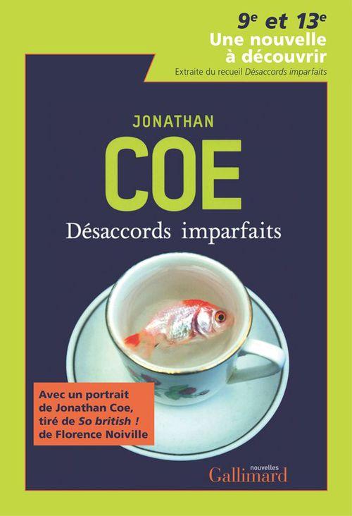 9e et 13e - Une nouvelle gratuite de Jonathan Coe (suivi d'un portrait par Florence Noiville)