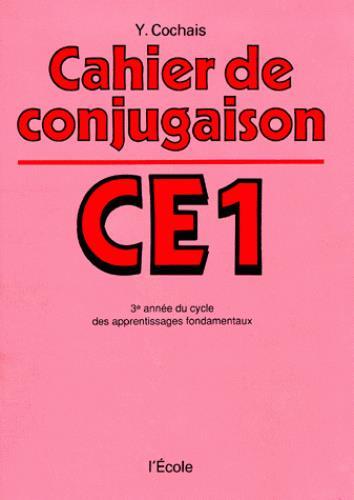 Cahier de conjugaison ; CE1