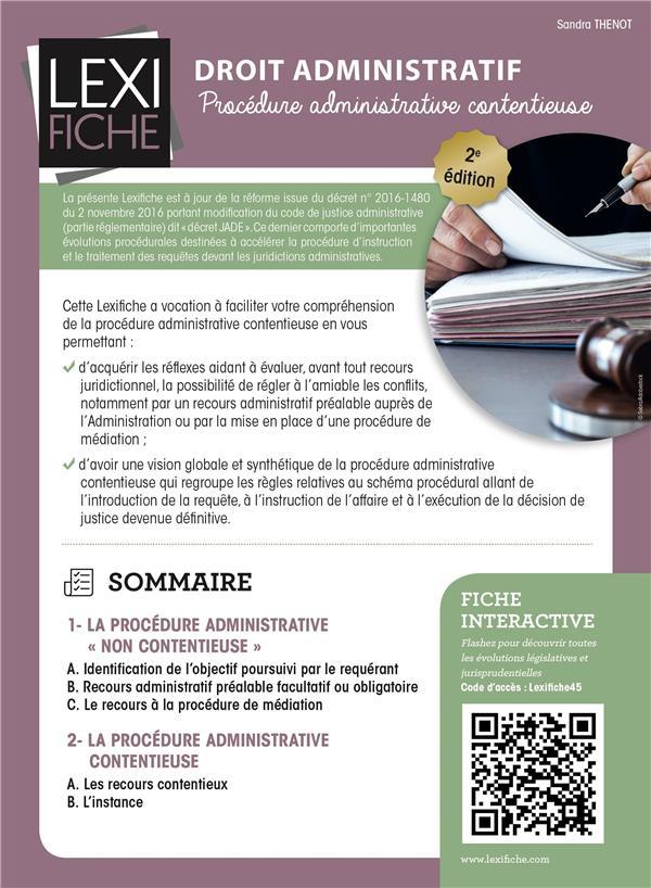 Droit administratif (2e édition)