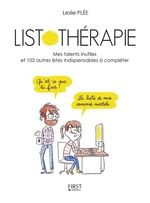 Vente Livre Numérique : Listothérapie  - Leslie Plée