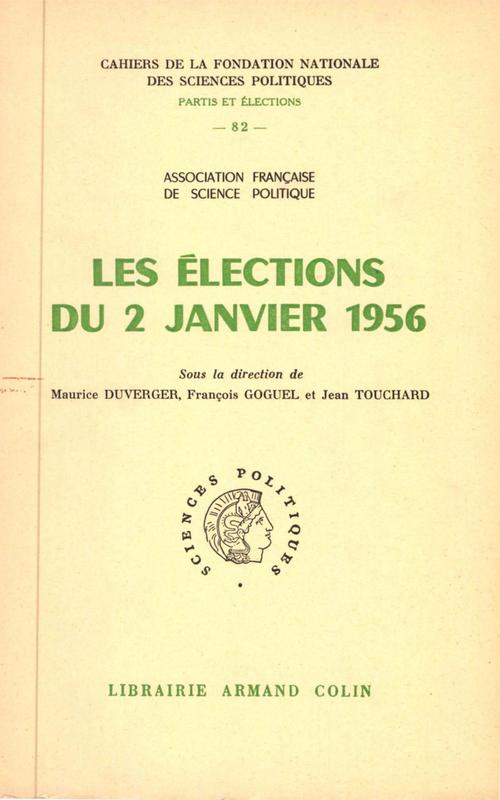 Les élections du 2 janvier 1956