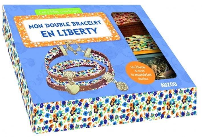 MON DOUBLE BRACELET EN LIBERTY - NOUVELLE EDITION Paris Mathilde