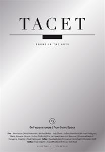 Tacet t.3; de l'espace sonore
