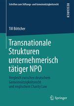 Transnationale Strukturen unternehmerisch tätiger NPO  - Till Bottcher