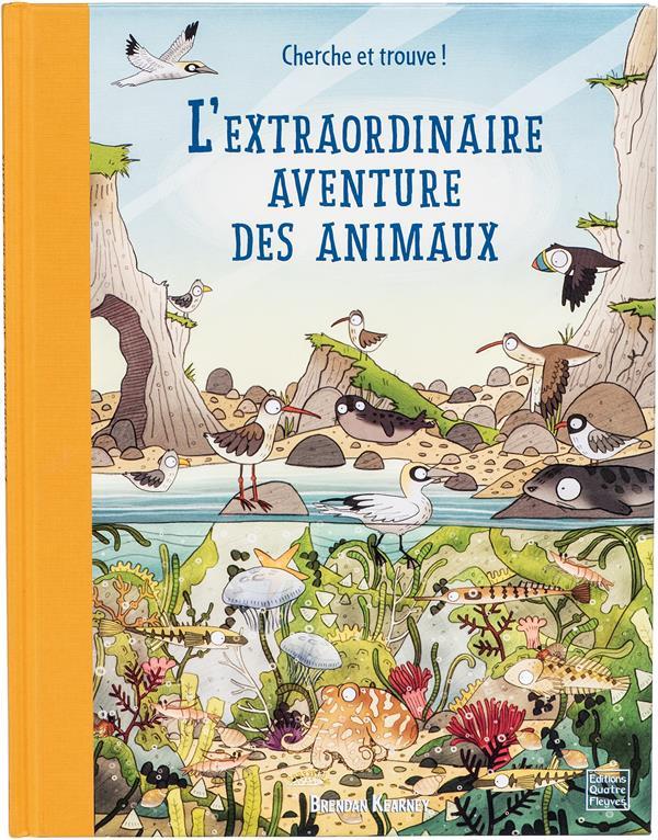 LIVRES DE BRENDAN KEARNEY - L'EXTRAORDINAIRE AVENTURE DES ANIMAUX