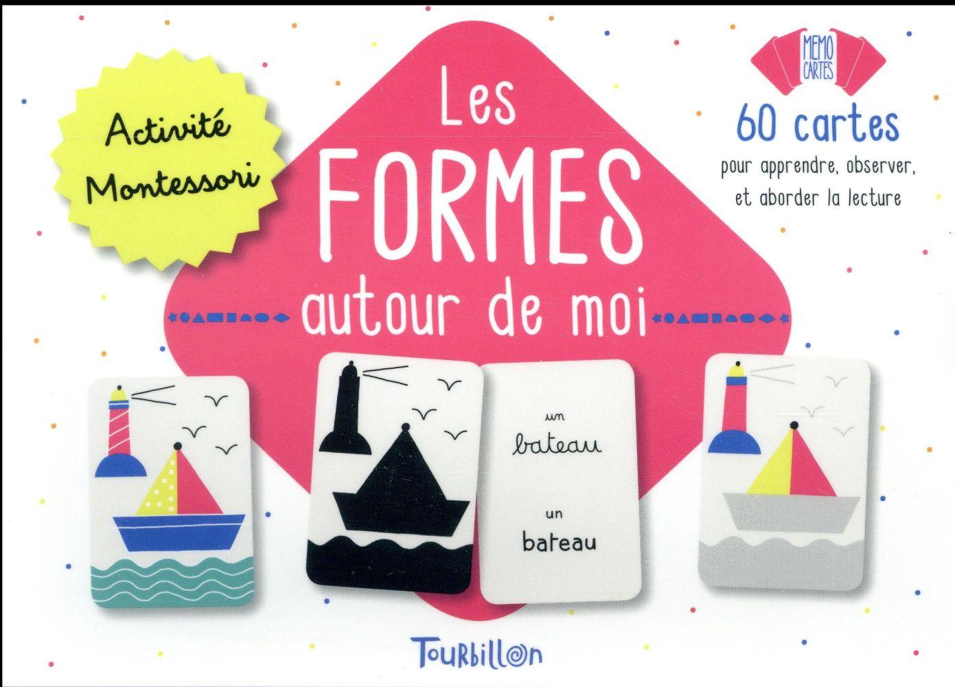 Les formes autour de moi ; 60 cartes
