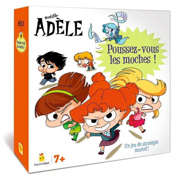 Mortelle Adèle ; poussez-vous les moches ! un jeu de stratégie mortel !