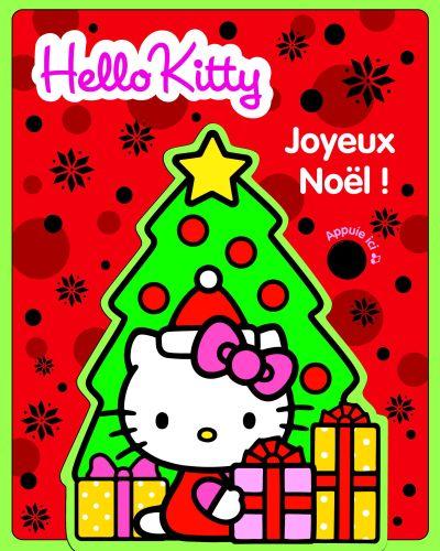 Joyeux Noêl ; hello Kitty ; livre mousse