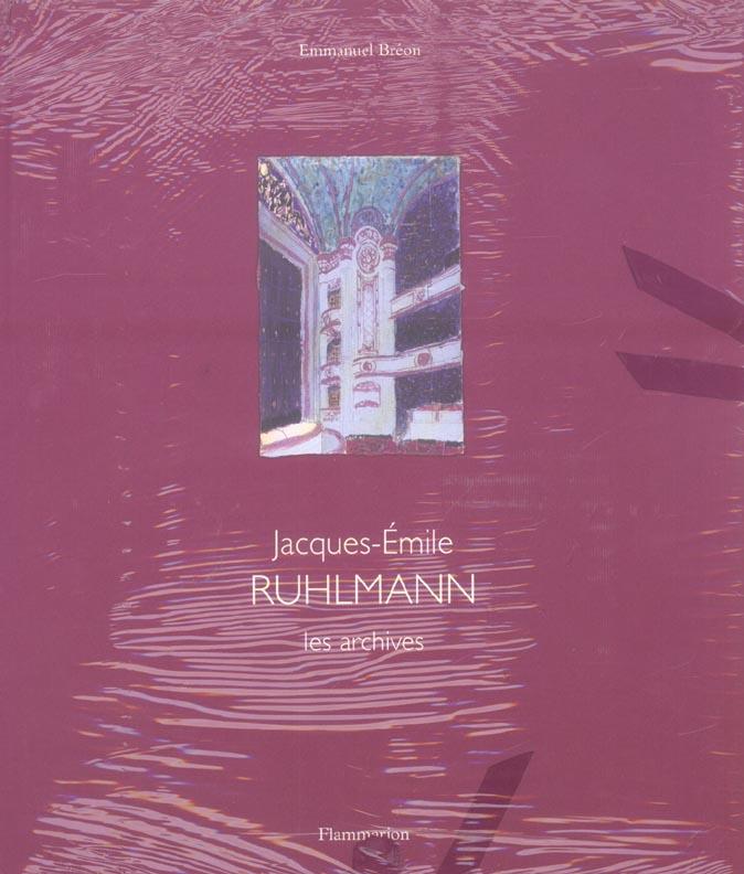 Jacques-emile ruhlmann - le mobilier - architecture d'interieur