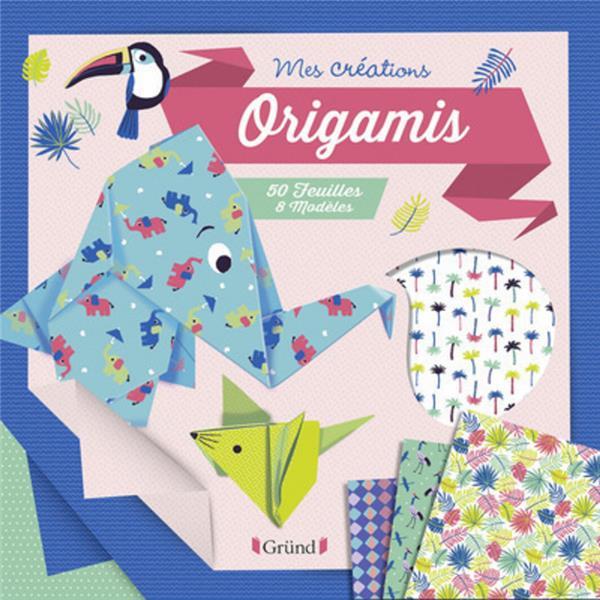 Origamis ; 50 feuilles, 8 modèles