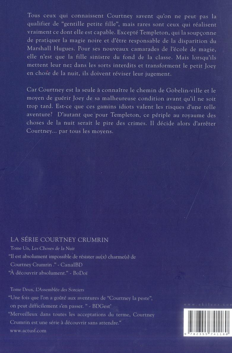 Courtney Crumrin T.3 ; le royaume de l'ombre