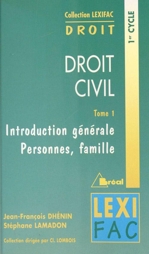 Droit civil t.1