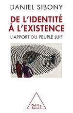 Vente Livre Numérique : De l´identité à l´existence  - Daniel Sibony