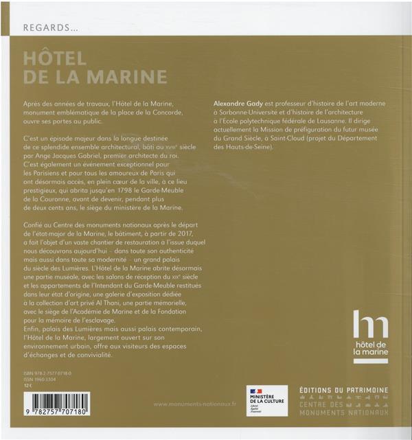 L'Hôtel de la marine