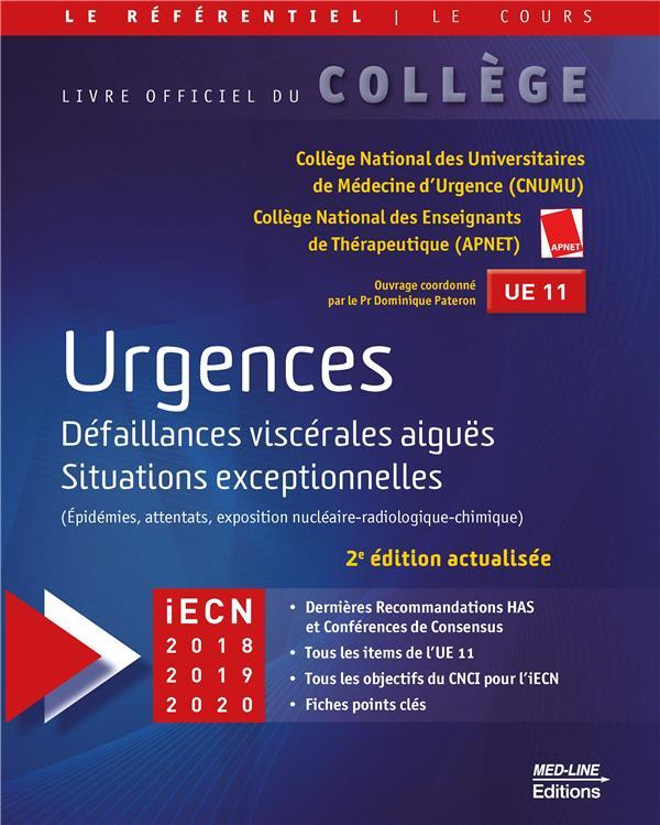 Urgences ; défaillances viscérales aiguës situations exceptionnelles (2e édition)