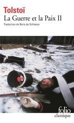 Couverture de La guerre et la paix t.2