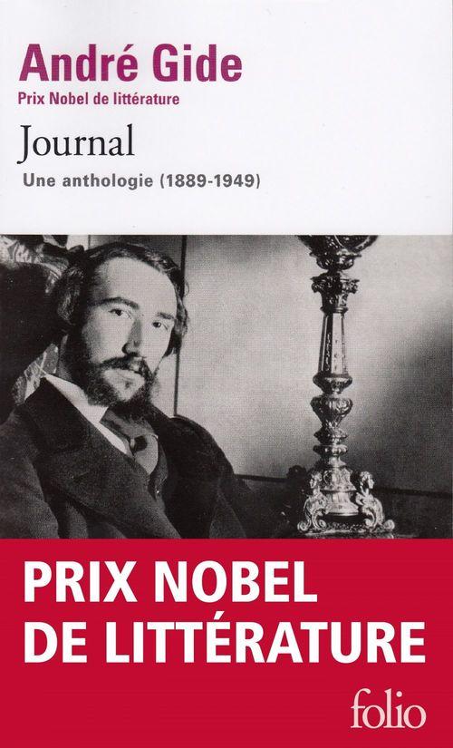 Journal ; une anthologie (1889-1949)