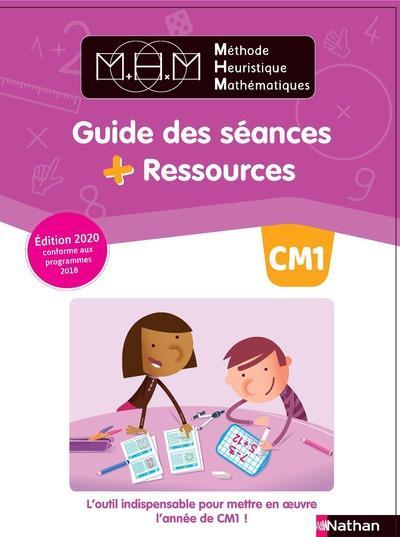 Mhm methode heuristique mathematiques - guide des seances + ressources cm1 - 2020