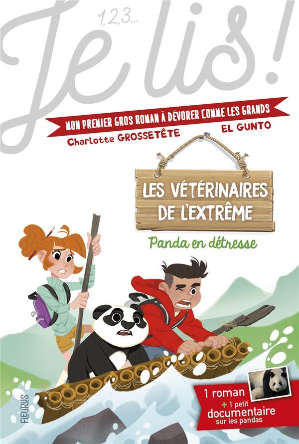 Les veterinaires de l'extrême t.1 ; Panda en détresse