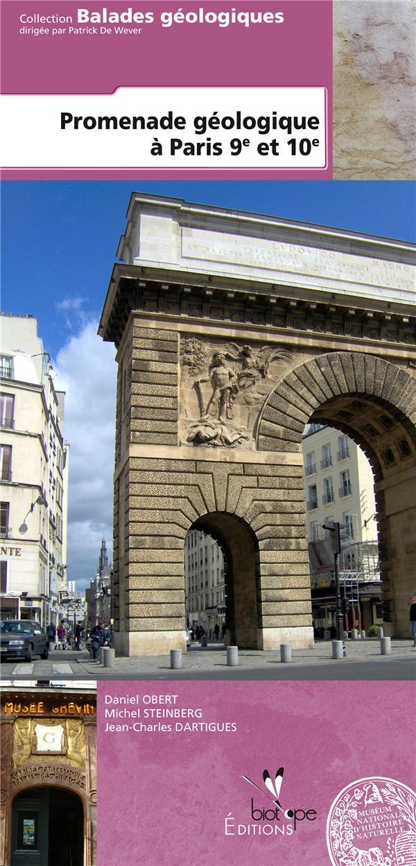 Promenade géologique à Paris 9e et 10e