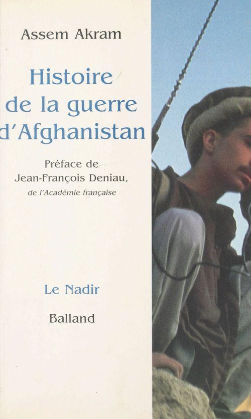 Histoire de la guerre d'afghanistan