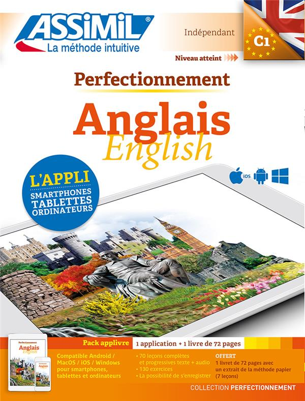 Perfectionnement Anglais ; C1