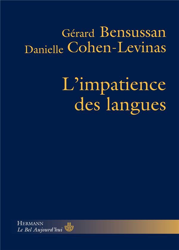 L'impatience des langues