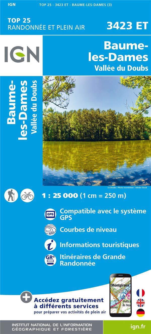 3423ET ; Baume-les-Dames ; vallée du Doubs (3e édition)