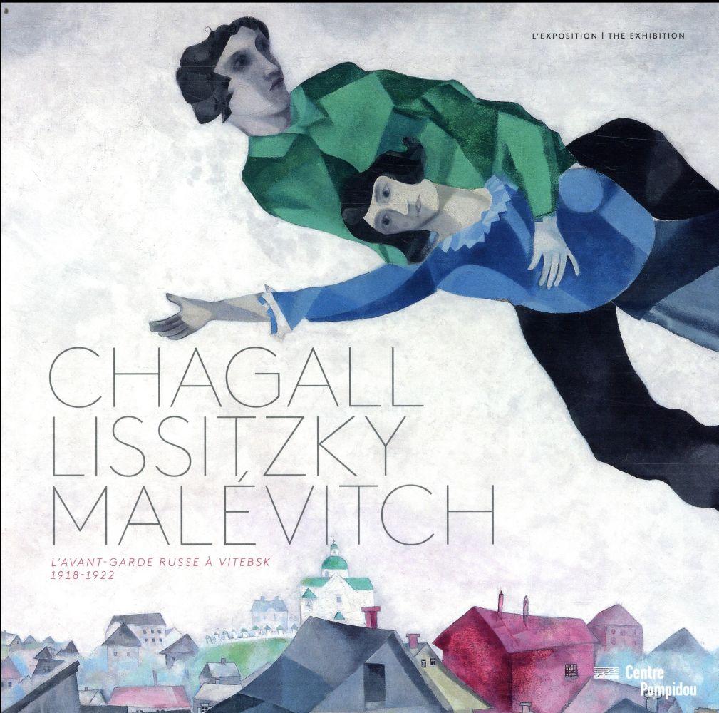 Chagall, Lissitzky, Malevitch album de l'exposition