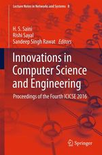 Innovations in Computer Science and Engineering  - H. S. Saini - Rishi Sayal - Sandeep Singh Rawat