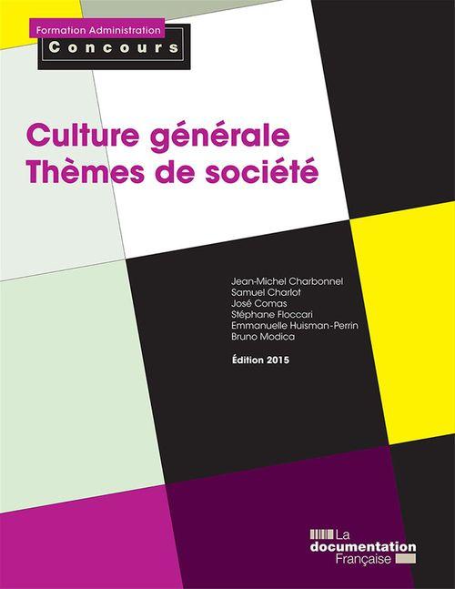 Culture générale - Thèmes de société