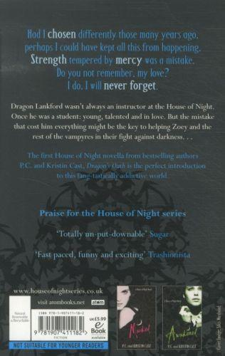 Dragon's oath - house of night stories: book 1