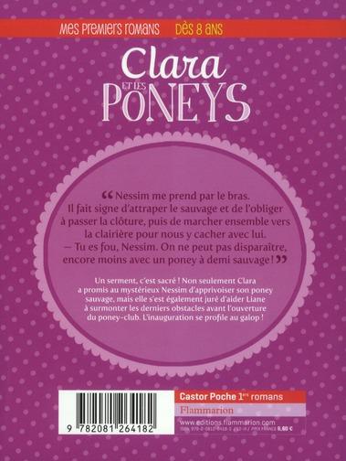Clara et les poneys t.5 ; des poneys à apprivoiser