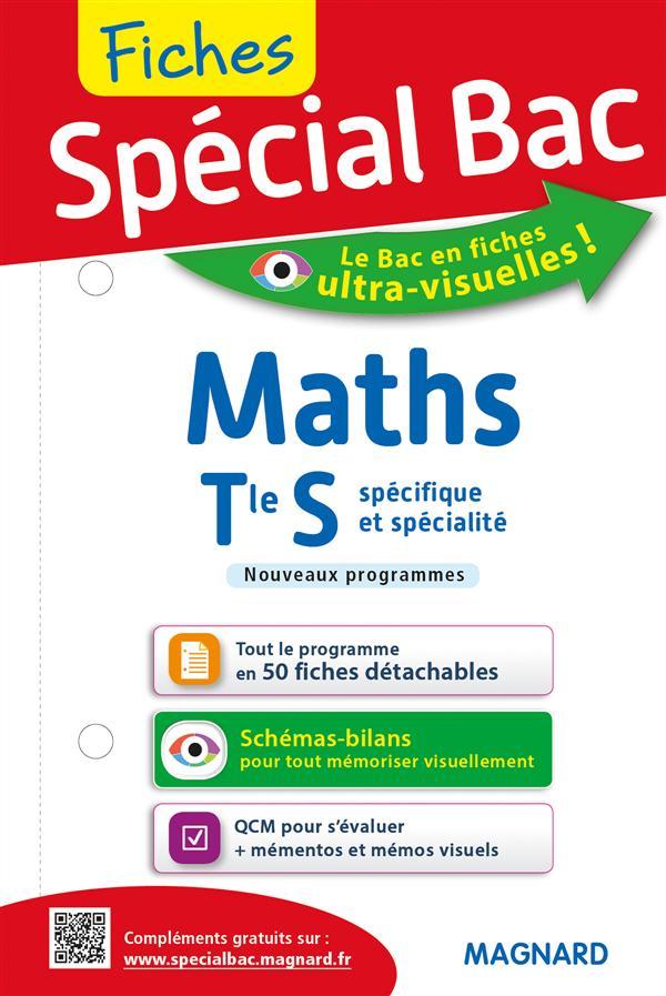 Spécial bac ; fiches maths ; terminale S